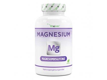 Vit4ever Magnesium Bisglycinát 775mg | Hořčík 240 kapslí | Natureforlife.cz