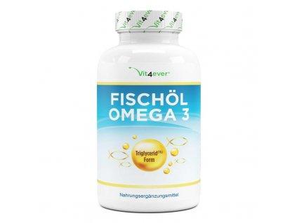 Vit4ever Rybí olej Omega 3 XXL 420 kapslí 1000 mg 18% EPA a 12% DHA   Natureforlife.cz