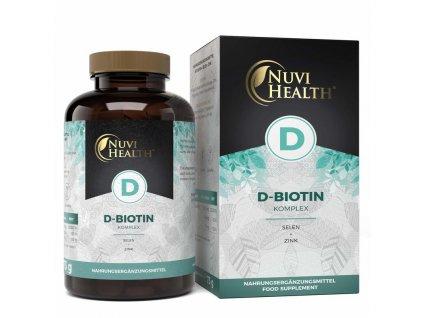 Nuvi Health D-Biotin vlasový komplex | Natureforlife.cz