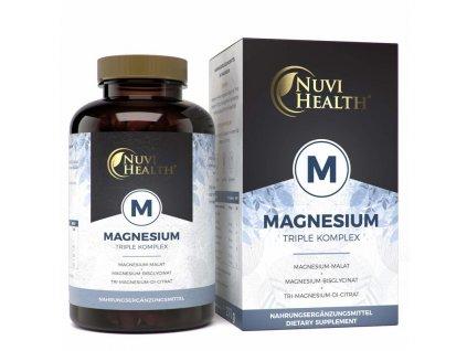 Nuvi Health Magnesium Triple komplex | Natureforlife.cz