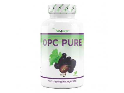 Vit4ever OPC Pure extrakt z hroznových jader 450mg 300 kapslí   Natureforlife.cz