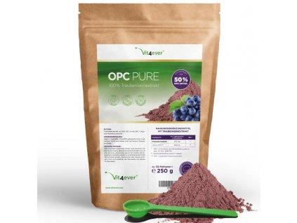 Vit4ever OPC Pure extrakt z hroznových jader 250g | Natureforlife.cz