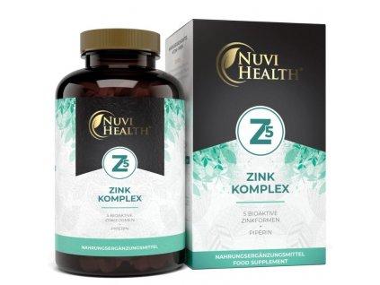 Nuvi Health Zinek komplex chelát Albion® | Natureforlife.cz