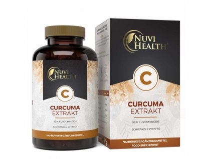 Nuvi Health Kurkuma extract | Natureforlife.cz