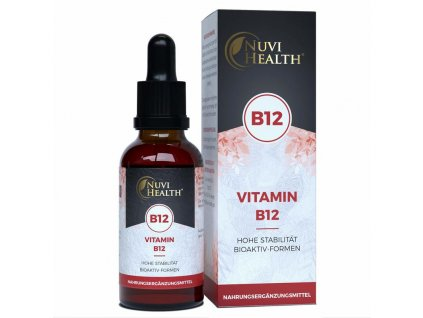 Nuvi Health Vitamín B12 kobalamin komplex   Natureforlife.cz