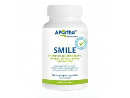 APOrtha Smile s vitamínem B1 - 120 veganských kapslí
