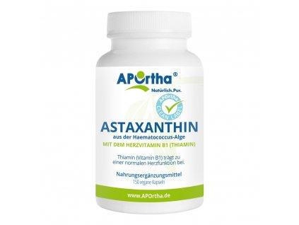 Aportha přírodní astaxanthin 4 mg - 150 veganských kapslí