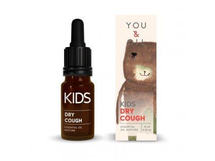 You & Oil KIDS Bioaktivní směs pro děti - Suchý kašel 10 ml