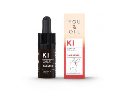 You & Oil KI Bioaktivní směs - Nadměrné pocení 5 ml