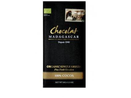 CHOCOLAT MADAGASCAR | BIO Hořká čokoláda 100% KAKAO | Natureforlife.cz