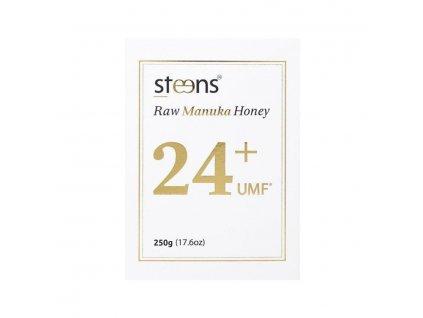 Steens RAW Manuka Honey 1122+ MGO 250g   manukový med   Natureforlife.cz