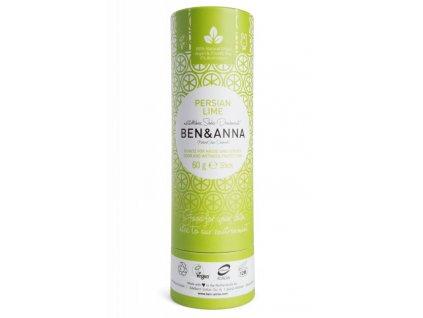 Ben & Anna | Tuhý deodorant - Perská limetka | Natureforlife.cz