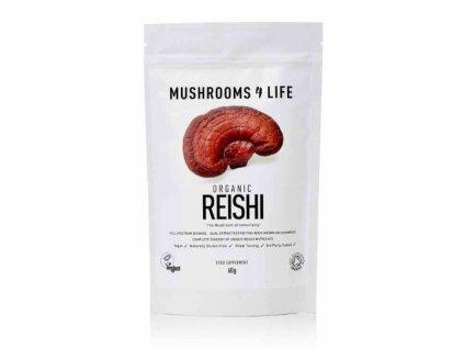 MUSHROOMS4 Life   BIO HOUBA REISHI 60g   Natureforlife.cz