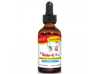 NORTH AMERICAN HERB & SPICE | Tekutý vitamin C pro děti - KIDS-C Plus | Natureforlife.cz