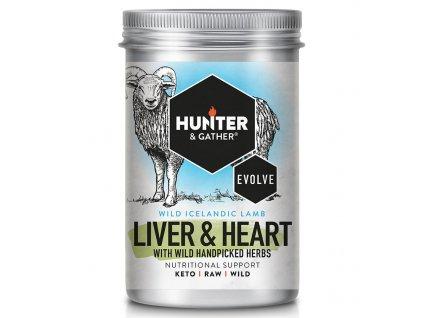 Hunter & Gather | Jehněčí játra, srdce 90 tobolek | Natureforlife.cz