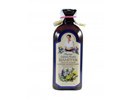 Babička Agafia |  Vyživující šampon pro mastné vlasy | Natureforlife.cz