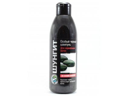 Speciální černý šampon pro normální vlasy se šungitem - Fratti 300ml Natureforlife