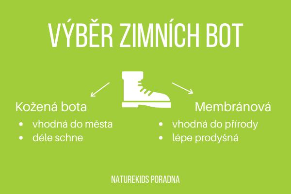 Jak na výběr zimních bot