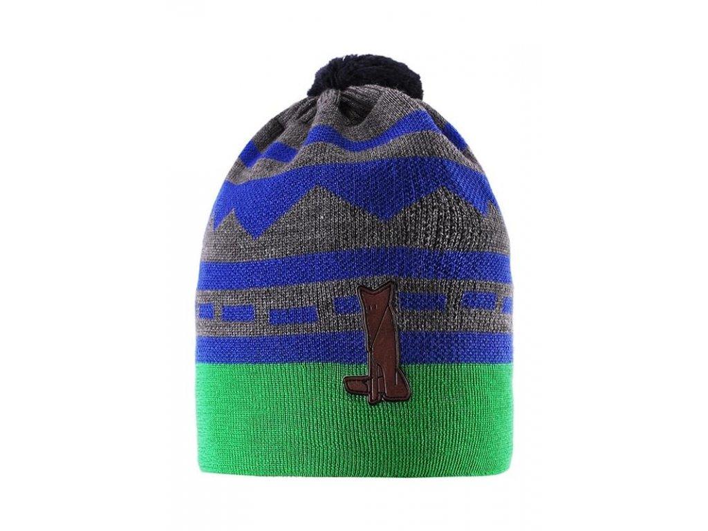 Čepice zimní Reima Fjell