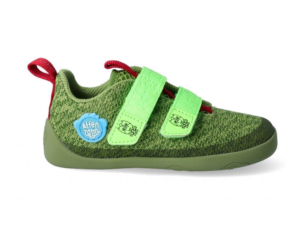 17576 barefoot tenisky affenzahn minimal lowcut knit dragon 1
