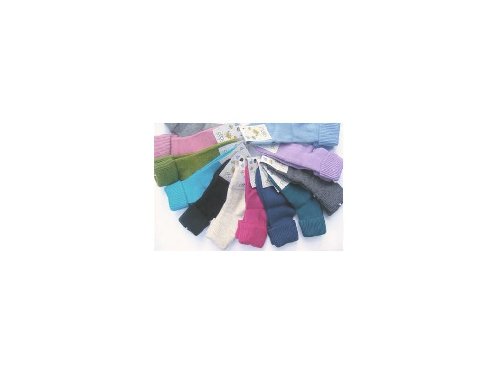Ponožky DIBA vlněné kluk jednobarevné