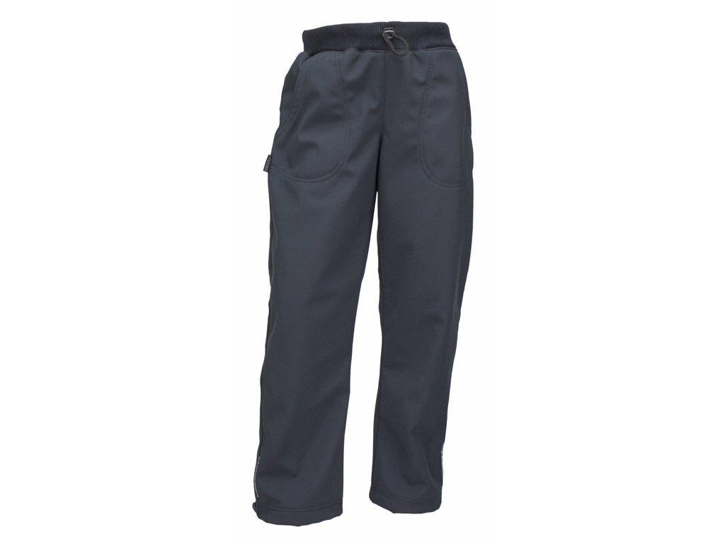 Kalhoty Fantom softshell zimní černé