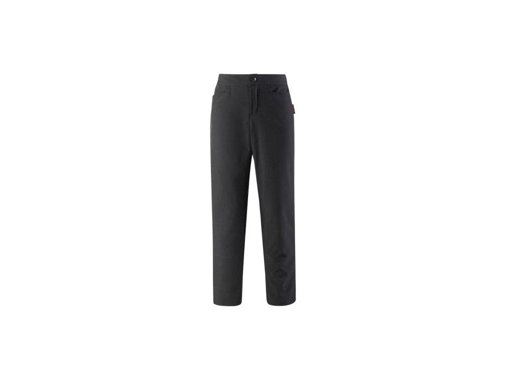 reima divci softshellove kalhoty idole black 116 cm