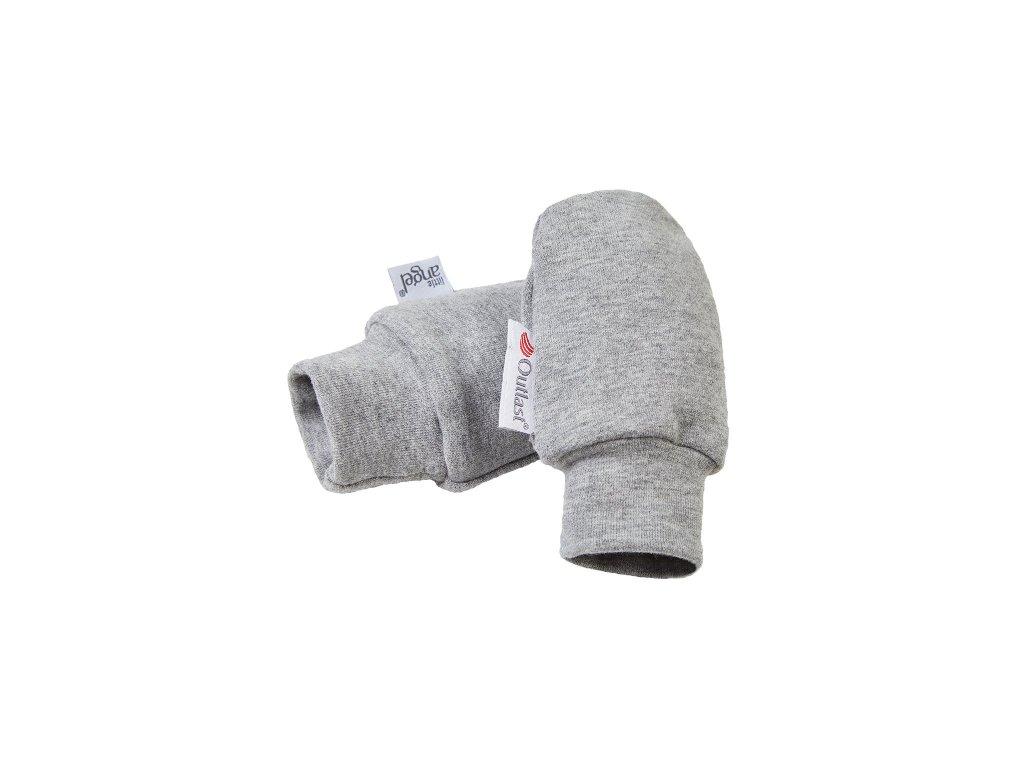 25145 rukavice smyk kojenecke outlast sedy melir velikost 0