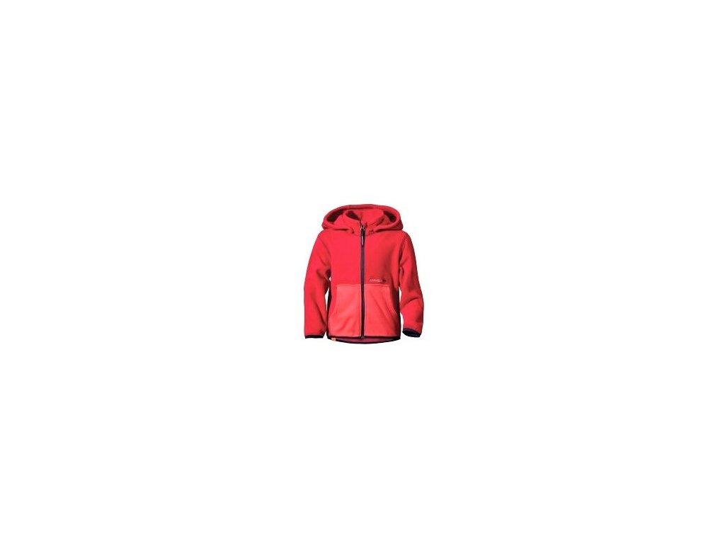 4952 didriksons 1913 detska mikina mochini kids hoodie red