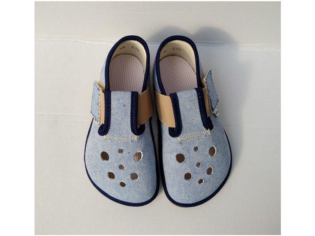 Bačkůrky Pegres BF03 barefoot