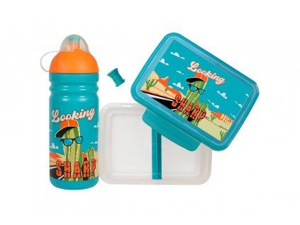 Box Zdravá sváča+láhev 0,7 l set Sharp