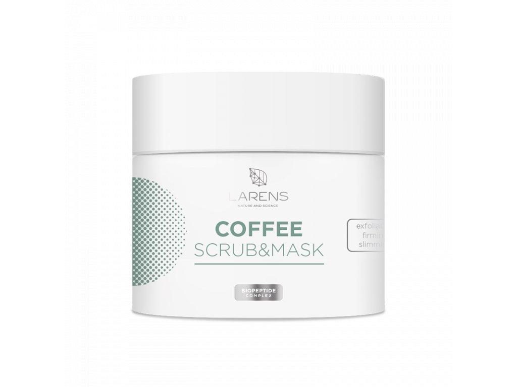 Kávová maska s pílingovým účinkom na tvár a telo