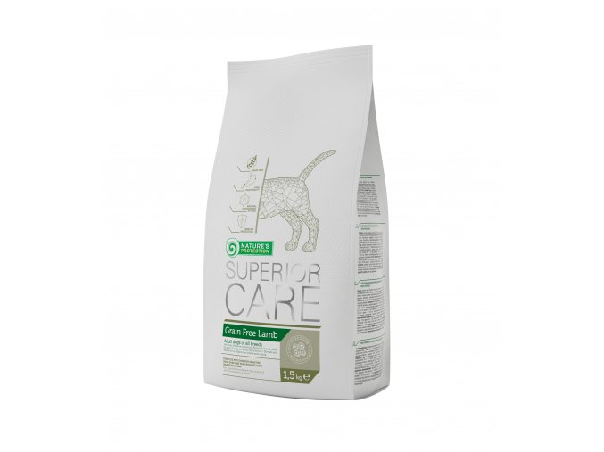 Grain free lamb package 1,5 kg