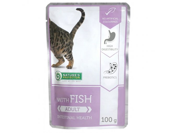 natures protection adult fish 100g