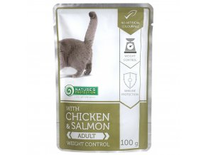 natures protection chicken salmon weight control