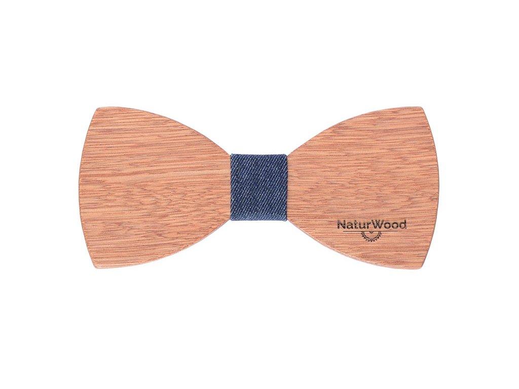 Bond - dřevěný motýlek