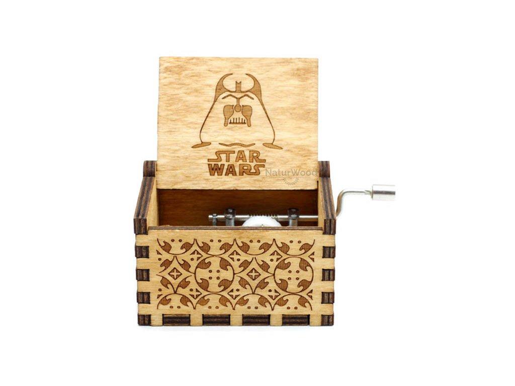 Zvonkohra-dřevěná skříňka
