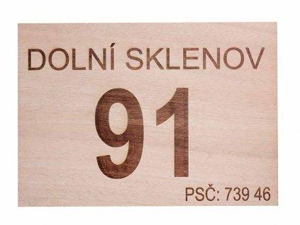 Dolní Sklenov tabule