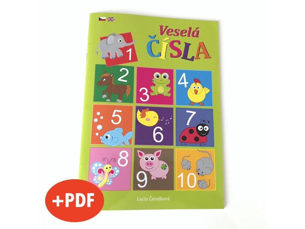 TRIO balíček PREMIUM * Hravá ABECEDA + Veselá ČÍSLA + Poznáváme BARVY a TVARY * + PDF e-knížky