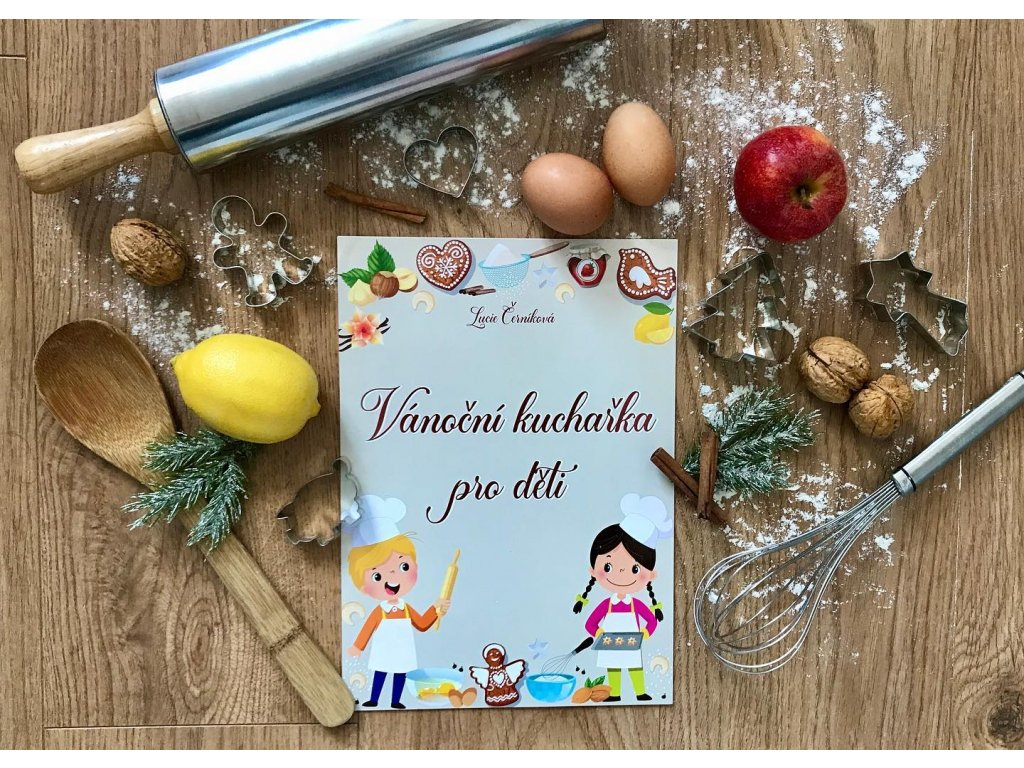 Vánoční kuchařka pro děti (e-kniha)