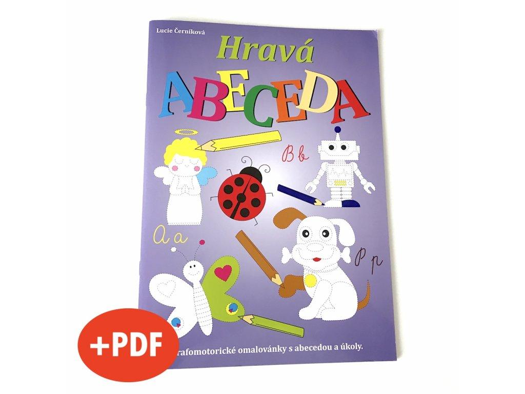 Hravá ABECEDA + PDF e-knížka verze