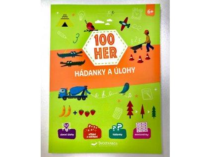 Knížka 100 her - Hádanky a úlohy pro děti od 6 let