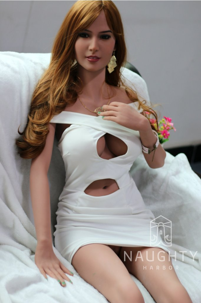 Silicone Love Doll Redhead Amy 5ft 5' (165 cm)
