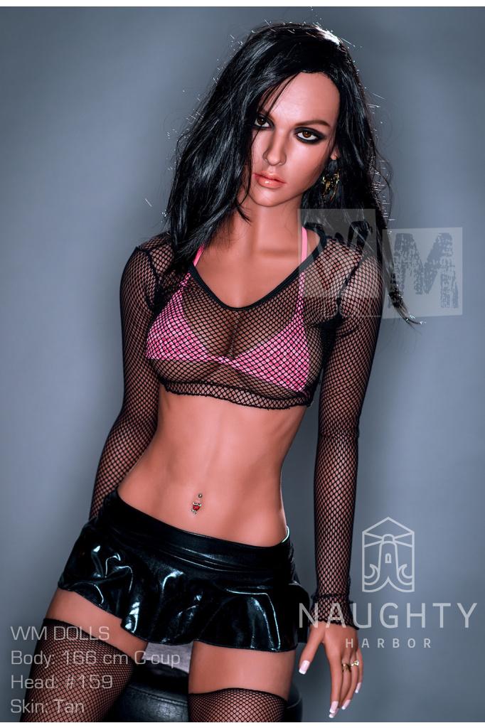 Real Sex Doll Black-haired Caroline 5ft 5' (166 cm)