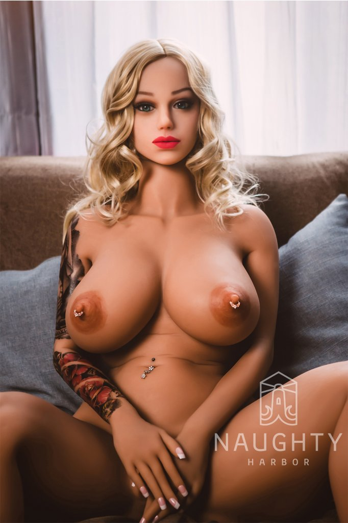 Real Sex Doll Tattooed Rose s piercingem 5ft 2' (160 cm)/ F-Cup