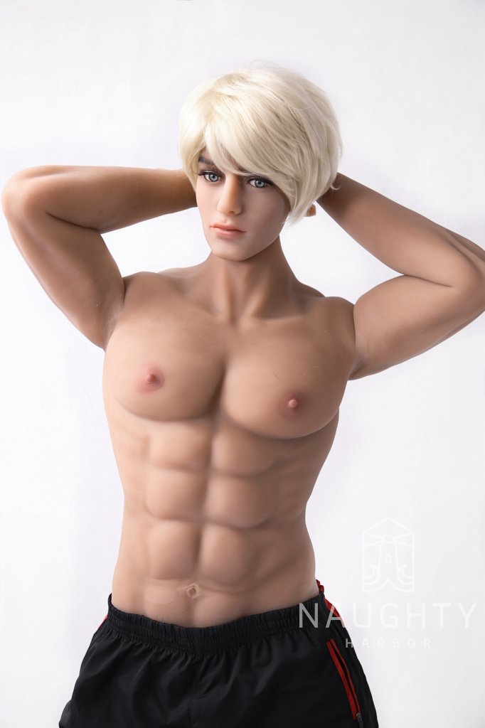 TPE Male Doll Muscular Peter 5ft 10' (180 cm)