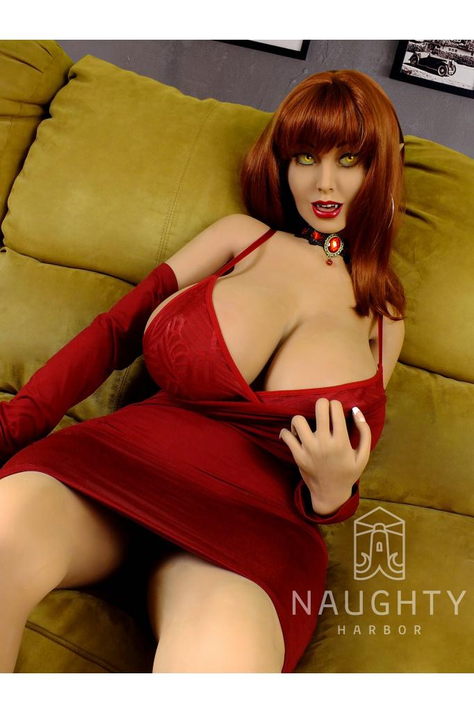 Sex Doll Redhead Sylvia 5ft 2' (160 cm)/ H-Cup