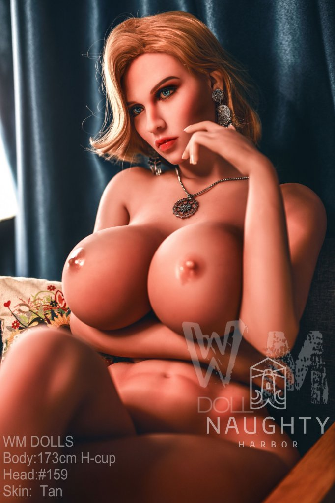 Real Sex Doll Redhead Clu 5ft 8' (173 cm) - STOCK/ H-Cup