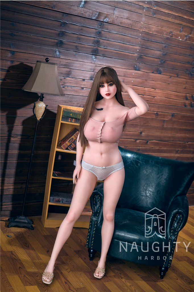 Real Sex Doll Brunette Saya 5ft 4' (163 cm) - STOCK/ G-Cup