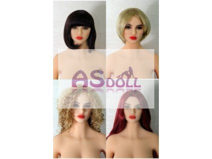 Extra heads - AS Doll
